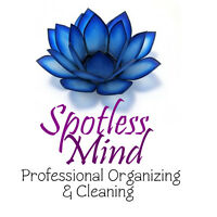 Spotless Mind Professional Organizing and Cleaning