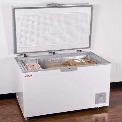 New 55 14.4 Cu. Ft. White Commercial Sub Zero Chest Freezer - 115 Volts