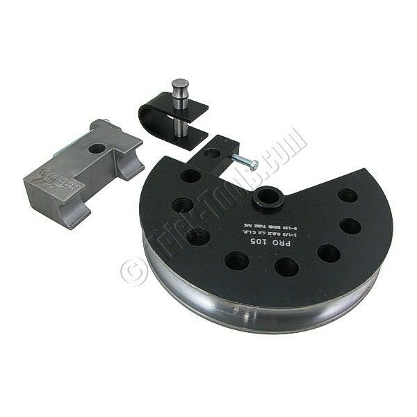 "1"" OD x 3"" CLR 180 Deg Round Tube Die Set for Pro-Tools MB-105HD Bender"