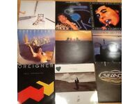 9 classic LP's from late 70's, early 80's