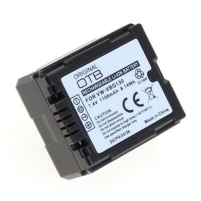 OTB Accu Batterij Panasonic VW-VBG070 - 1100mAh - Akku Battery Batterie Bateria, usado comprar usado  Enviando para Brazil