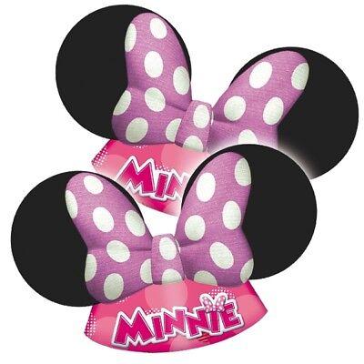 Minnie Maus Partyhüte, 6er Pck
