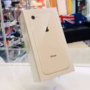 BRAND NEW IPHONE 8 64GB  GOLD TAX INVOICE UNLOCKED WARRANTY Surfers Paradise Gold Coast City Preview