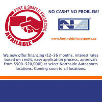 WE FINANCE RIMS AND TIRES **NORTHSIDE AUTOSPORTS BRAMPTON**
