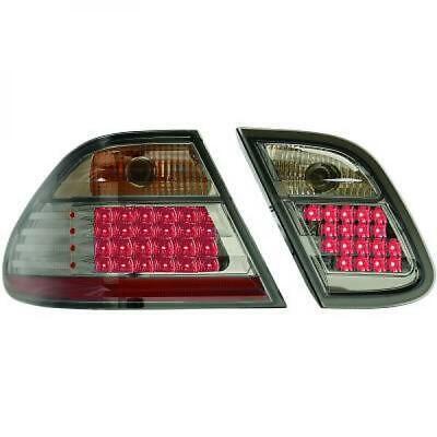 Rückleuchten Set für Mercedes CLK W208 97-02 LED Klarglas/Schwarz