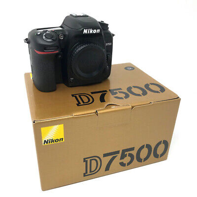 Nikon D7500 Digital SLR Camera Body - UK NEXT DAY DELIVERY