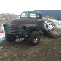 50s truck project on k5 blazer frame