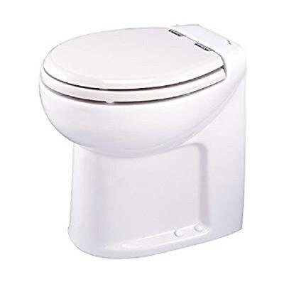 Thetford 38117 Tecma Silence High White 12V Marine RV Toilet