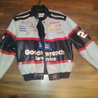 Nascar Goodwrench Leather Jacket