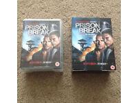 Prison Break Seasons 1-4 DVDs
