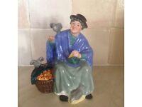 Royal Doulton figurine named Tuppence a bag,