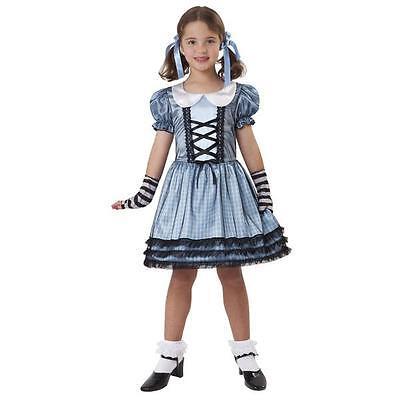 Girl's Wicked Dorothy Wizard of Oz Halloween Costume NEW Size Medium Dress ()