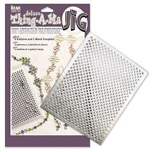 Beadsmith THING-A-MA JIG DELUXE wire jig