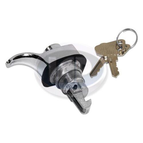 1952-1967 VW Bug Ghia T3 Chrome Locking Glove Box Latch w/ Keys 111857131