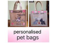 Personalised pet bags