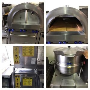 WOOD FIRED PIZZA OVEN! STEAMER!  COMBI OVEN! & MORE!!