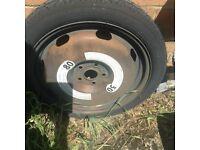 A6 spare wheel