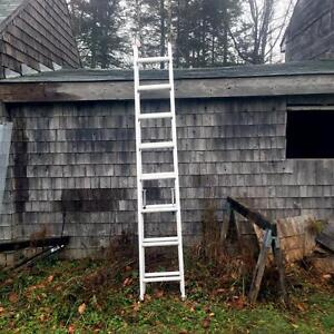 LOCATED IN HARVEY, YORK COUNTY, NB  A-1 AS NEW EXTENSION LADDER