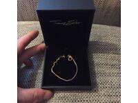 Thomas Sabo Bracelet 925 sterling silver, gold plated, rose gold