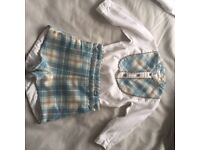 Spanish baby boys suits x2 24 months