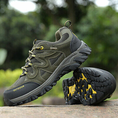 Men's Outdoor Shoes Hiking Trail Trekking Sneakers Climbing Sport Casual Boots