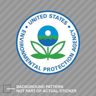 EPA Sticker Decal Vinyl Environmental Protection Agency
