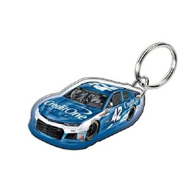 Kyle Larson 2018 Wincraft  42 Credit One Bank Acrylic Key Ring Mirrored Back