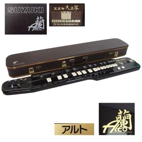 Suzuki Ran Alto Nice Electric Taishogoto Black Tested Working JP W / Hard Case