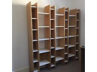 Large solid bookshelf