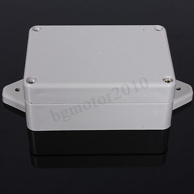 3.3x2.3x1.3 Plastic Waterproof Electronic Project Box Enclosure Case Cover Us