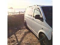 Vw transporter t5 camper day van surf van px swap pickup