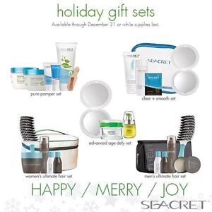 Seacret Spa Holiday Gift Packs Now Available!