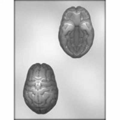 3D BRAIN CHOCOLATE Designer Candy MOLD Halloween Party Jello for sale  Shipping to India