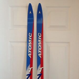 Atomic skis , boots and poles