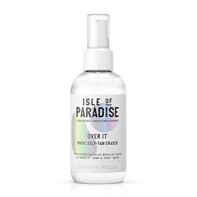 Isle Of Paradise Over It Magic Self-Tan Eraser - 200ml Brand New