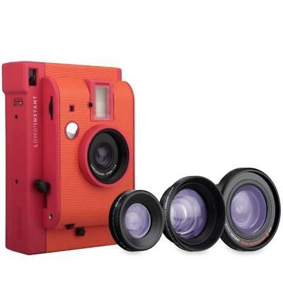 Lomography Lomo'Instant Marrakesh Edition Lens Combo Instant Film Camera Flash