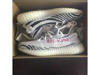 Adidas yeezy boost 350 zebra U.K. 8