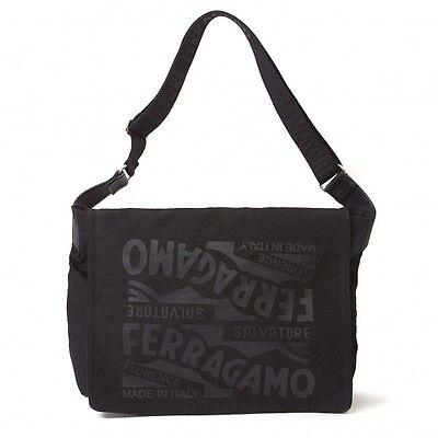 """""""SALE"""" SalvatoreFerragamo logo print design shoulder bag(K-19399)"""