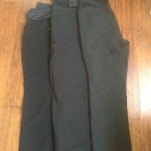 3 pair of Thyme maternity dress pants