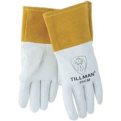 Tillman 24cm Premium Top Grain Kidskin Tig Welding Gloves Size Medium
