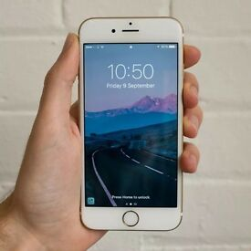 PERFECT condition UNLOCKED Apple iPhone 6S 64GB Gold