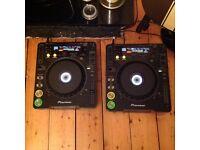 Pair pioneer cdj 1000 mk1 - dj decks
