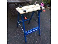 Draper work bench/ work mate, fold away good condition