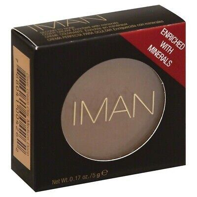 IMAN Second To None Cover Cream 5g - CLAY MEDIUM DEEP - boxed