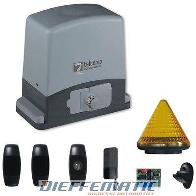Miglior prezzo KIT EVO600 230 V MAX 600 KG TX/RX NOIRE CANCELLI SCORREVOLI TELCOMA KITEVO600N