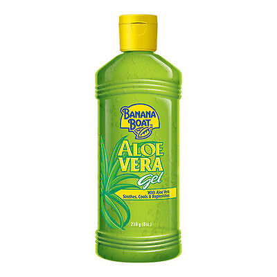 [BANANA BOAT] Soothing Aloe Vera After Sun Gel Soothes Cools Replenishes 230ml ()