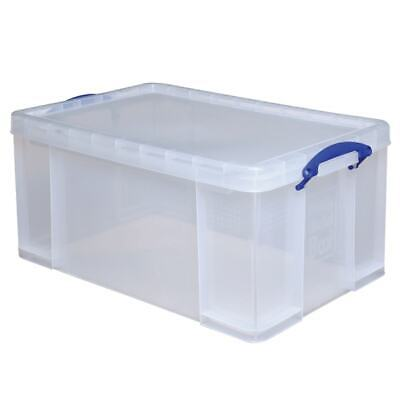 Really Useful Box Plastic Storage Container With Built-In Ha