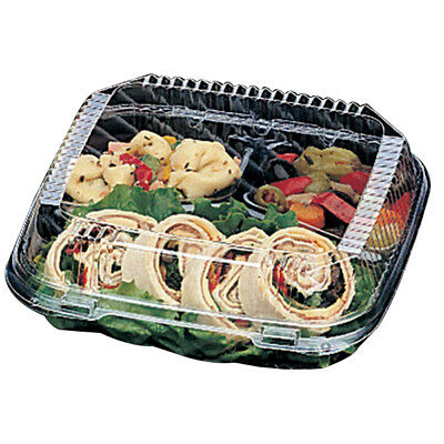 Pactiv Clearview Smartlock Food Containers 3-compartments Case Of 200