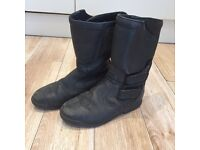 Ladies UK size 6 motorcycle boots