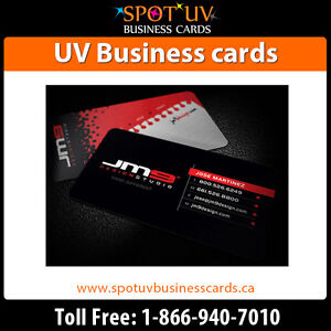 Standard Business card printing in Canada- UV Business cards London Ontario image 1